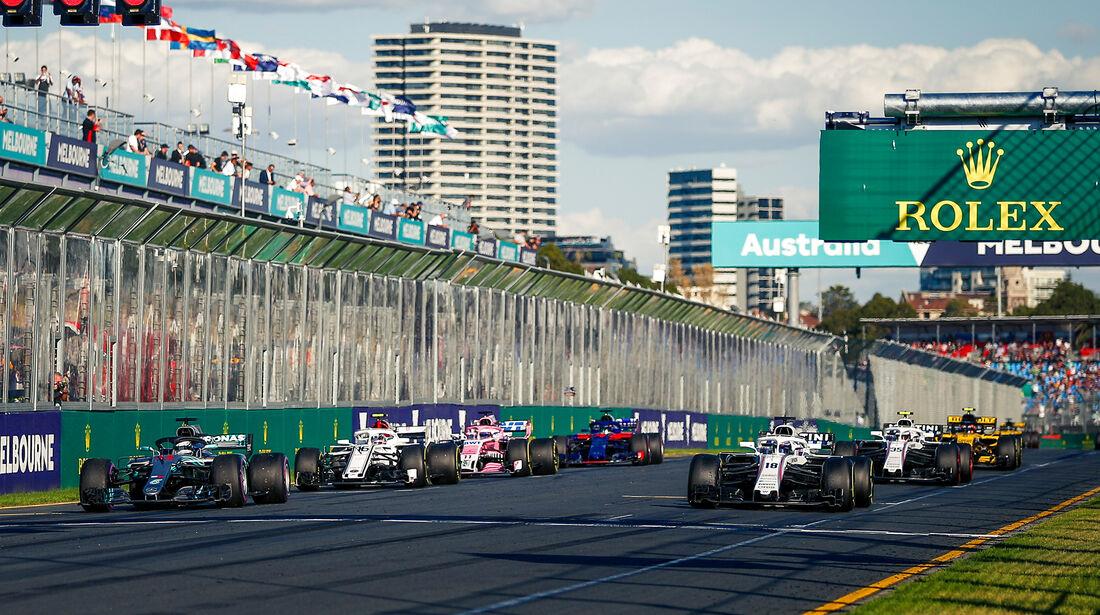 Startübung - Formel 1 - GP Australien - Melbourne - 23. März 2018