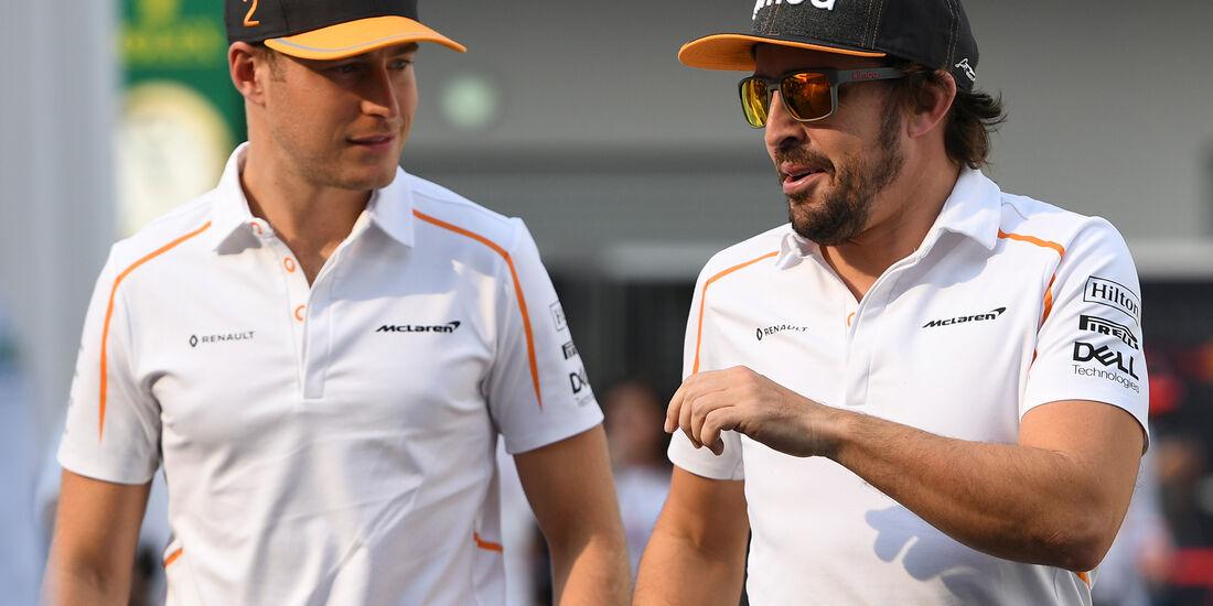 Stoffel Vandoorne & Fernando Alonso - Formel 1 - 2018