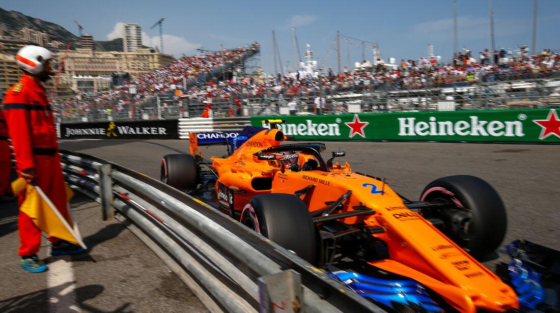 Stoffel Vandoorne - Formel 1 - GP Monaco 2018