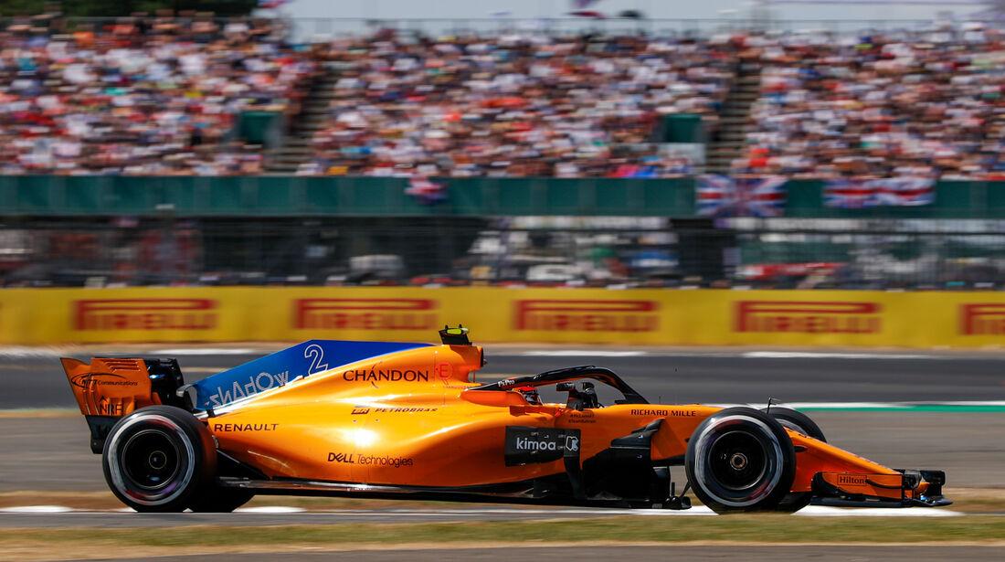 Stoffel Vandoorne - GP England 2018