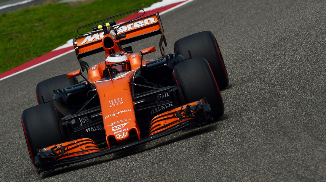Stoffel Vandoorne - McLaren-Honda -  GP China 2017 - Qualifying - 8.4.2017