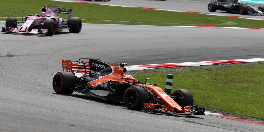 Stoffel Vandoorne - McLaren-Honda - GP Malaysia 2017 - Sepang