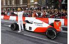 Stoffel Vandoorne - McLaren MP4/6 - F1 Live Show - London - 2017