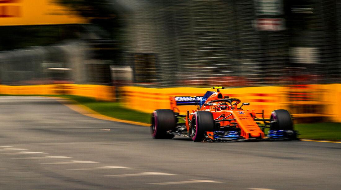 Stoffel Vandoorne - McLaren - Qualifying - GP Australien 2018 - Melbourne