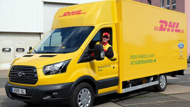 Deutsche Post Setzt Auf E Transporter Ab 2050 Emissionsfrei Auto