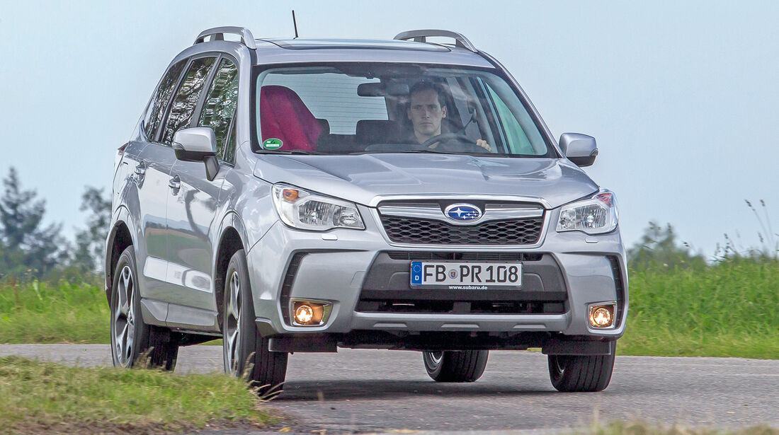Subaru Forester 2.0D, Frontansicht