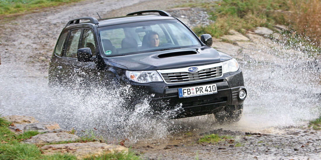 Subaru Forester, Frontansicht