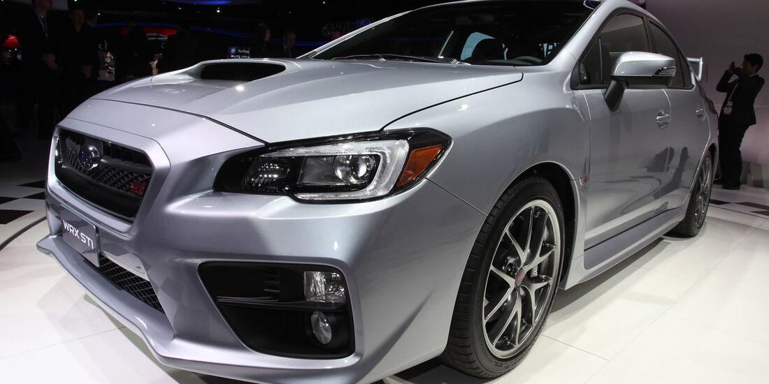 Subaru Impreza WRX STI - Detroit Auto Show 2014