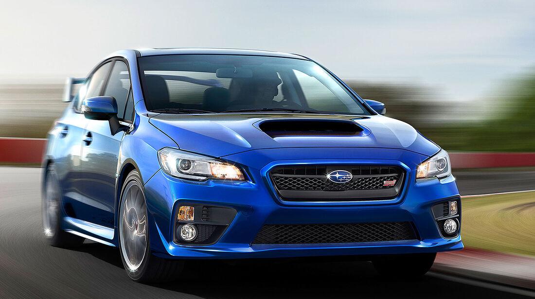 Subaru WRX STI Detroit Motor Show 2014