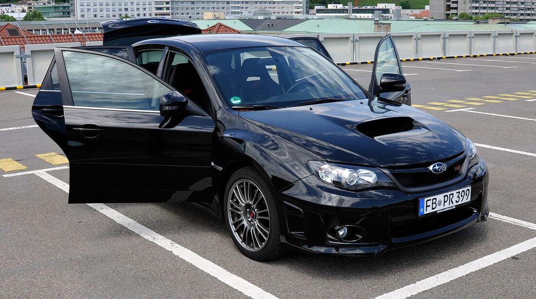 Subaru WRX STi, Innenraum