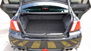 Subaru WRX STi, Kofferraum
