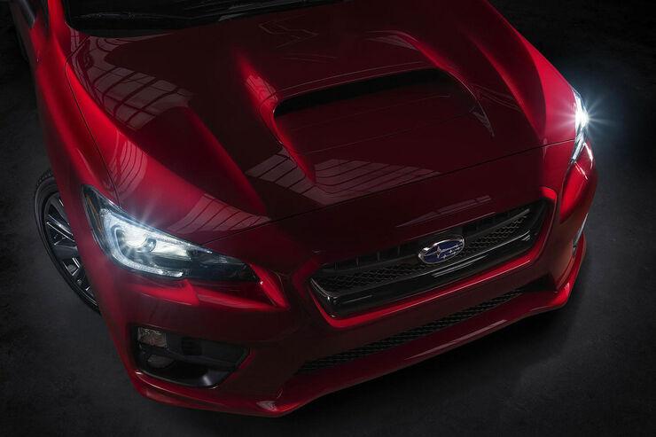 Subaru WRX Teaser L.A. Autoshow