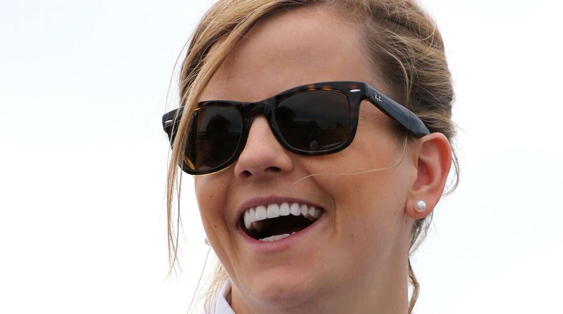 Susie Wolff - Williams - Formel 1 - GP England - Silverstone - 3. Juli 2014