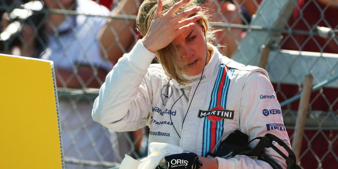 Susie Wolff - Williams - Formel 1 - GP England - Silverstone - 4. Juli 2014