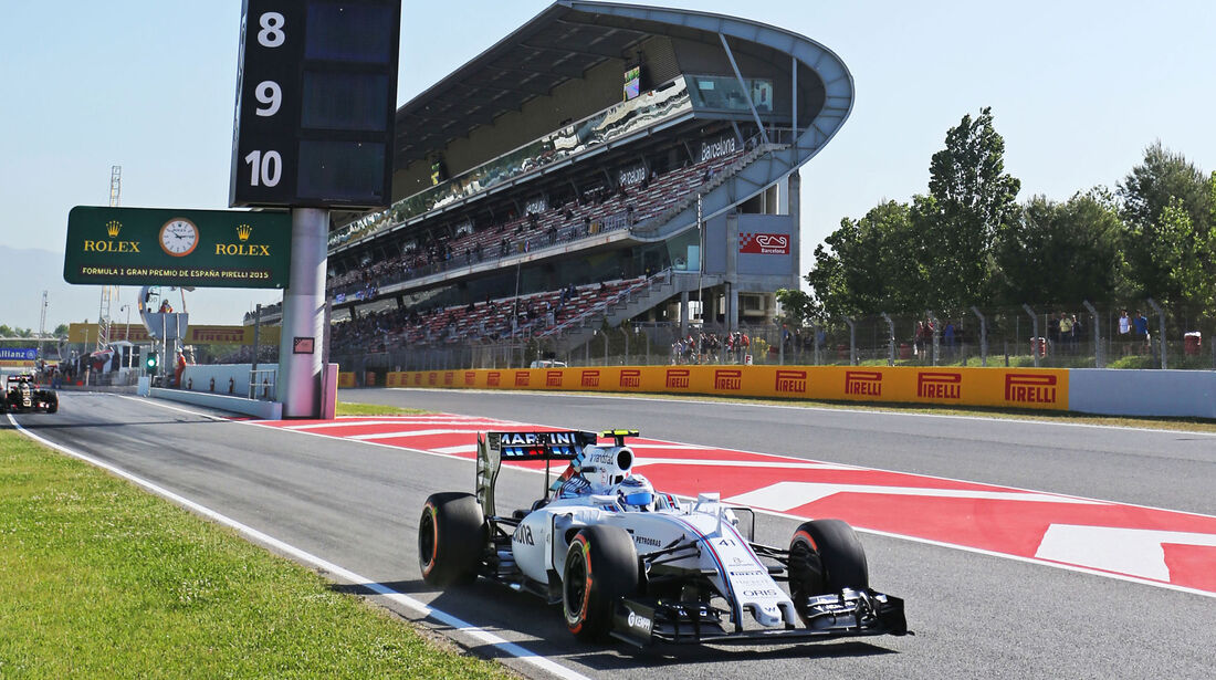 Susie Wolff - Williams - GP Spanien - Barcelona - Freitag - 8.5.2015