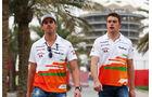 Sutil & Di Resta - GP Bahrain 2013