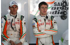 Sutil & Di Resta - GP Indien - Training - 28.10.2011