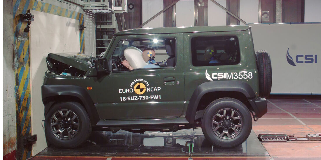 Suzuki Jimny EuroNCAP 2018