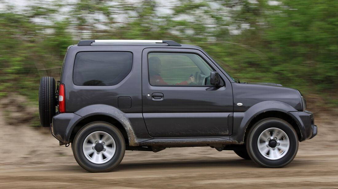 Suzuki Jimny, Seitenansicht