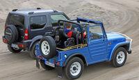 Suzuki Jimny, Suzuki LJ80, Seitenansicht