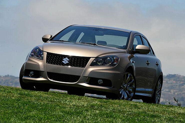 1 39 Bis Zum Aktuellsten Automodell Kizashi US Markt Ende 2009 War Es Ein Weiter Weg Foto Suzuki
