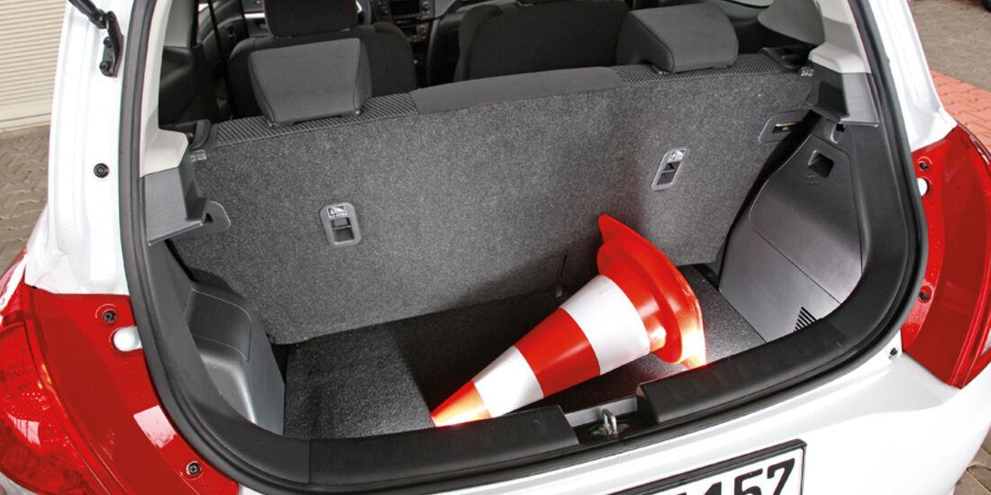 Suzuki Swift 1.6 Sport, Kofferraum
