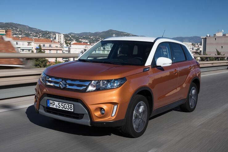 Suzuki Vitara 2015 Im Fahrbericht Kompakt SUV Mit Leichtigkeit