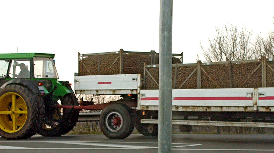 TÜV, GFÜ, Traktor