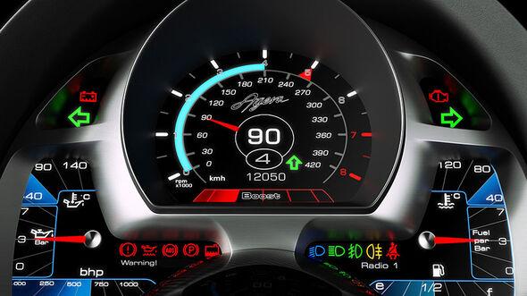 Tacho, Koenigsegg Agera