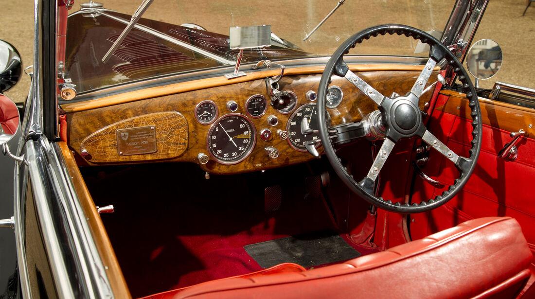 Talbot T 150, Cockpit