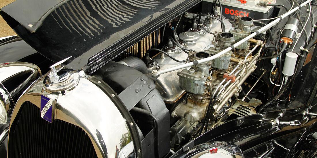Talbot T 150, Motor