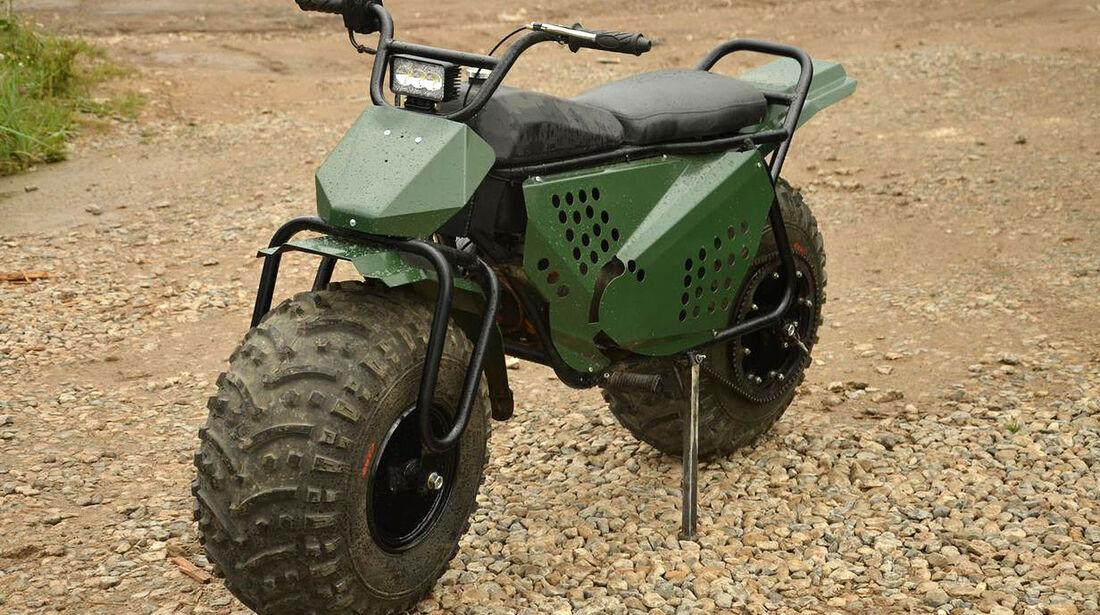 Tarus 2x2 Amphibien-Motorrad