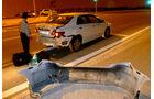 Taxi-Mietwagen-Crash