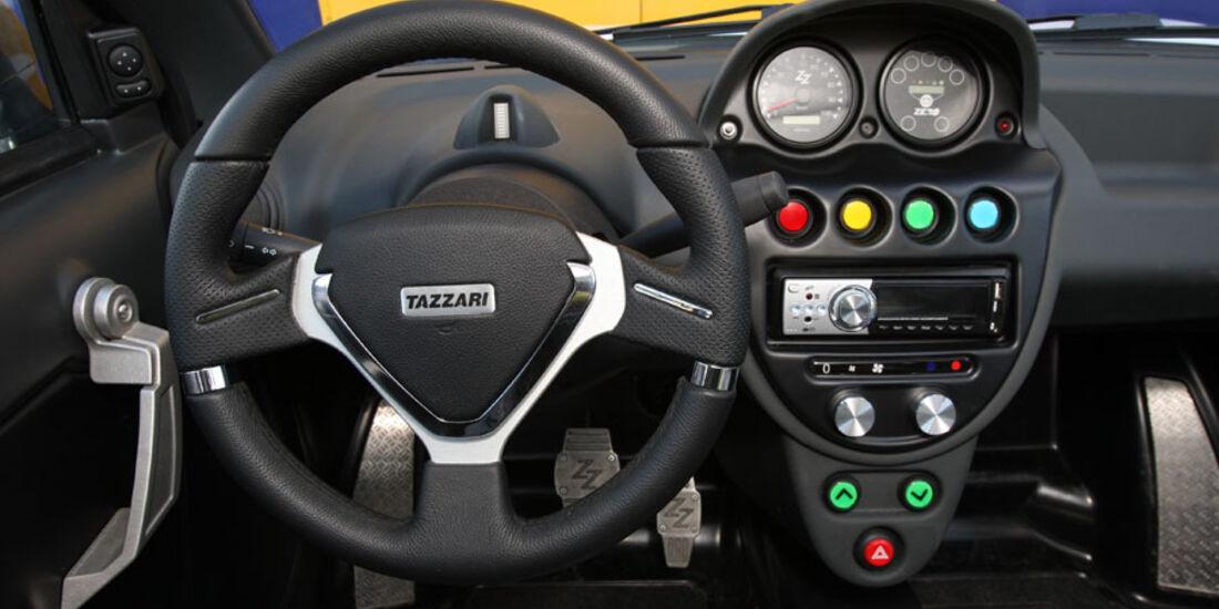 Tazzari Zero, Cockpit