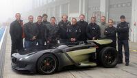 Team Peugeot EX1 Nordschleifen-Rekordfahrt