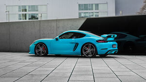 Techart Coupé, Tuning, Porsche 718 Cayman S