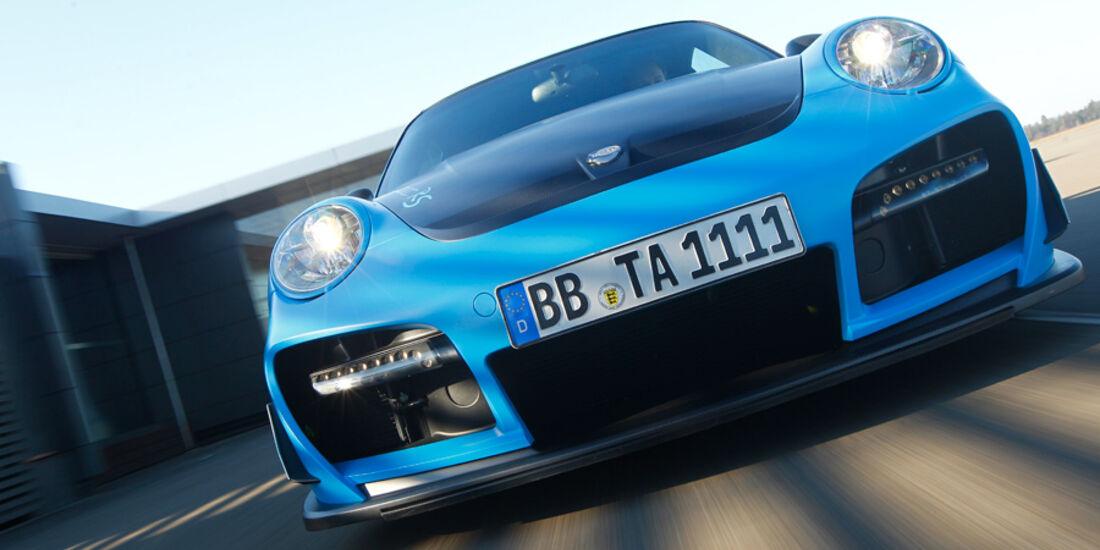 Techart GTStreet RS, Frontansicht