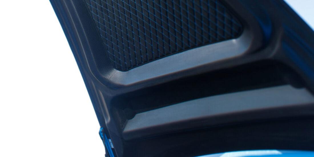 Techart GTStreet RS, Motorhaube, Frontscheinwerfer