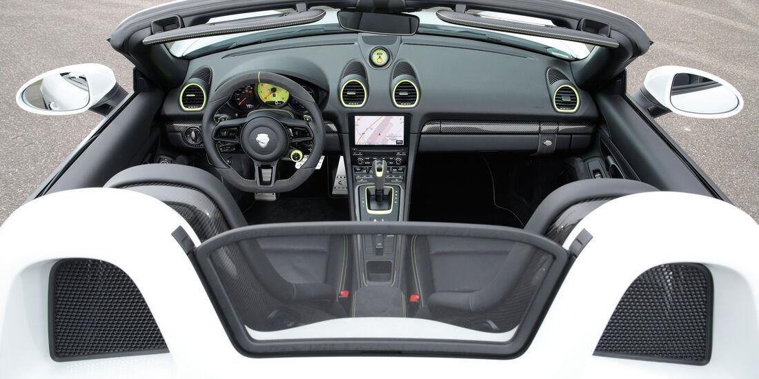 Techart-Porsche 718 Boxster S, Cockpit