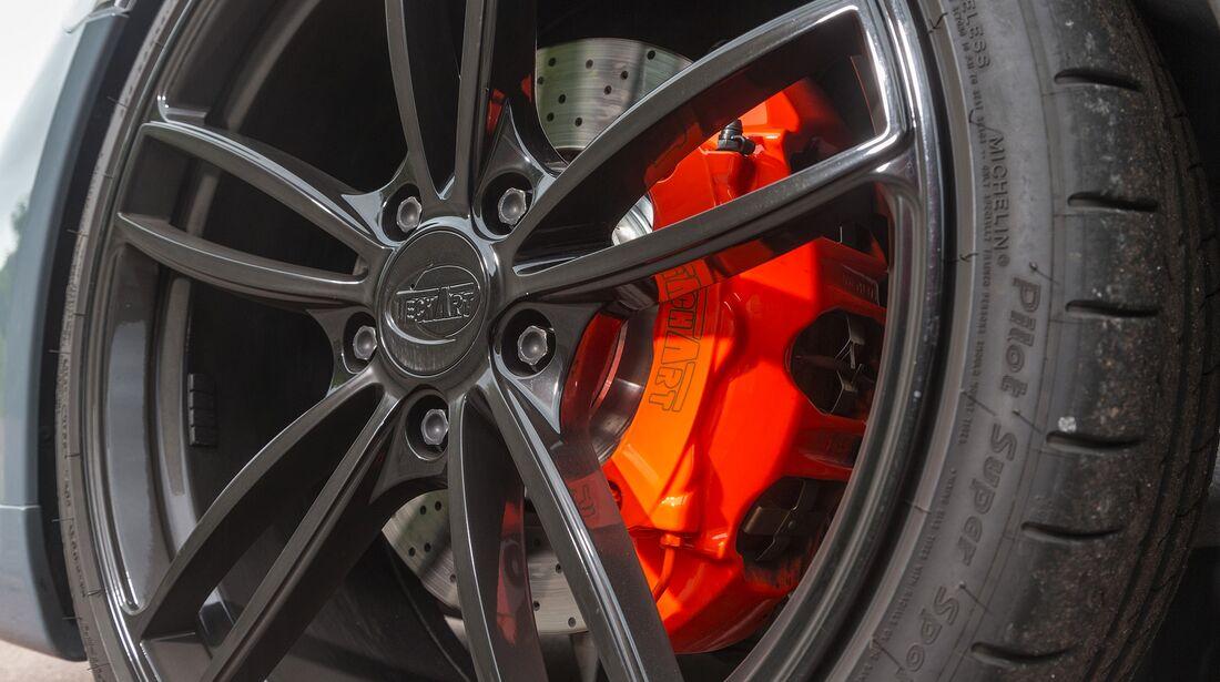 Techart-Porsche 911 Carrera S, Fahrbericht, Tuning, Felgen