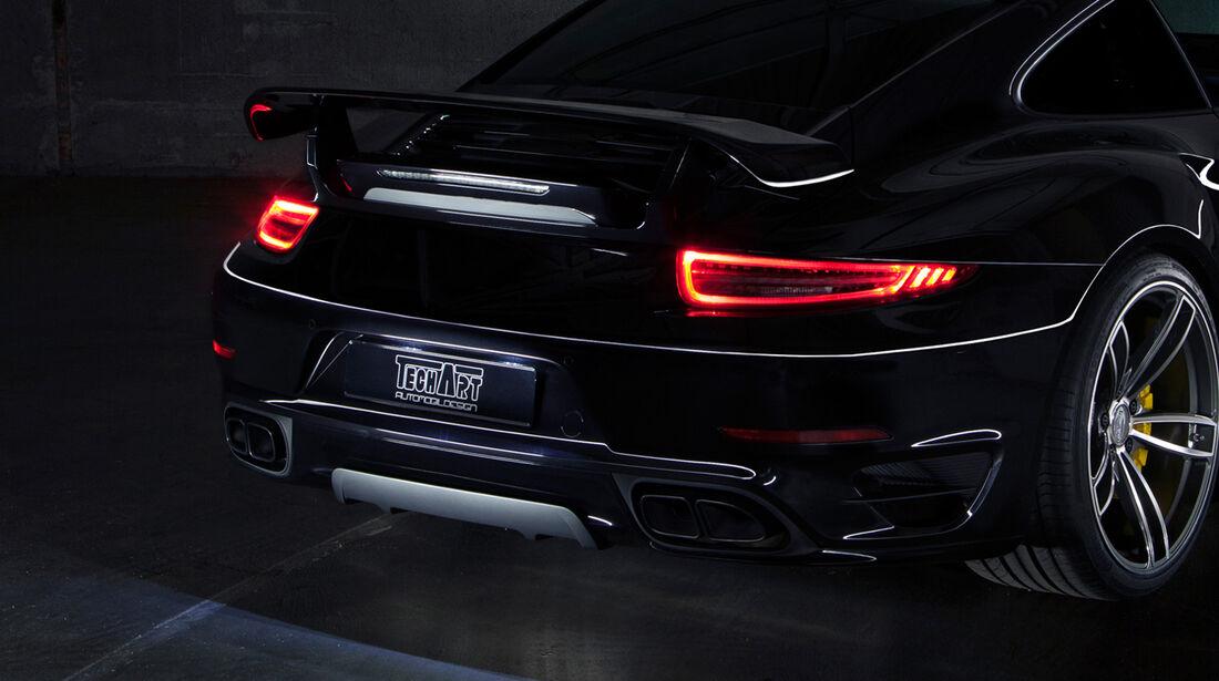 Techart Porsche 911 Turbo Heck