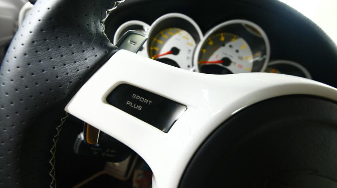 Techart-Porsche 911 Turbo Lenkrad Instrumentenbrett