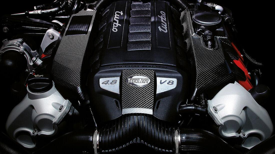 Techart Porsche, V8-Motor