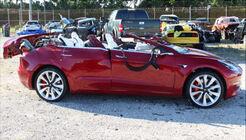Tesla Model 3, Autopilot-Unfall