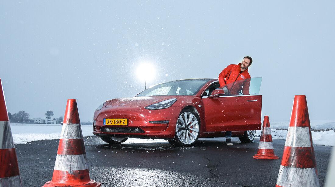 Tesla Model 3, Exterieur