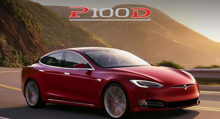 Neues Von Tesla Model S P100d Mit 613 Km Reichweite Auto Motor