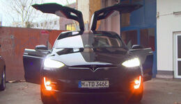 Tesla Model X, Easter-Egg, Geheimmodus