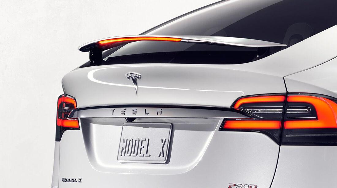 Tesla Model X Spoiler