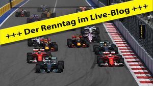 Ticker-Bild - Sebastian Vettel - GP Russland 2017