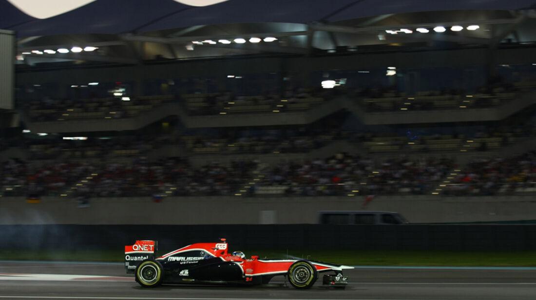 Timo Glock GP Abu Dhabi 2011
